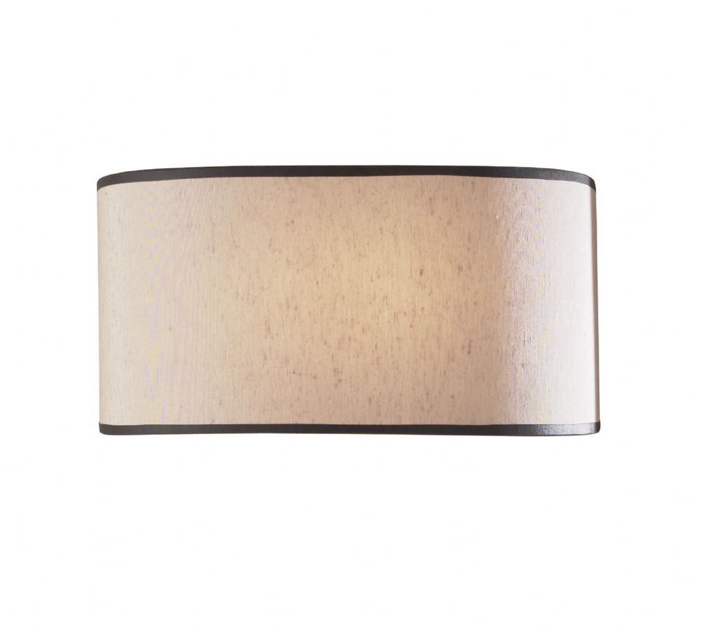 Ascott 1-light Beige shade Finish Wall Light ASC071 (Class 2 Double Insulated)